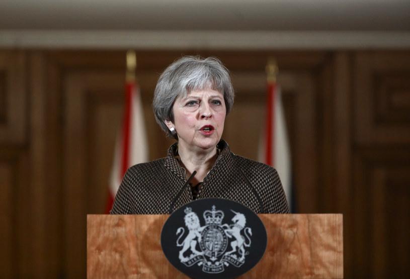 Theresa May /SIMON DAWSON /AFP