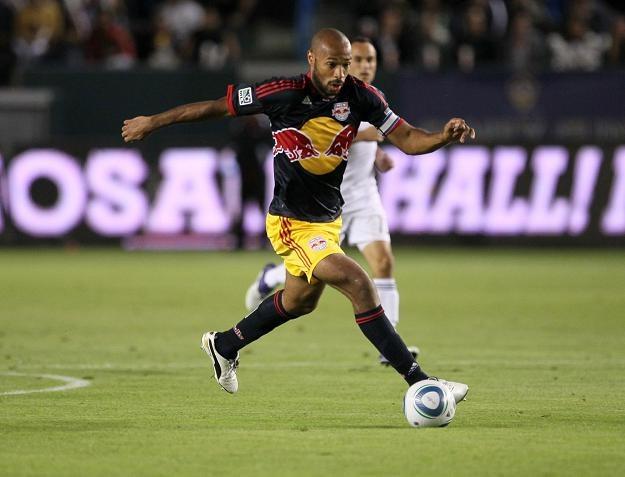 Thierry Henry wznowił treningi z byłym klubem /AFP