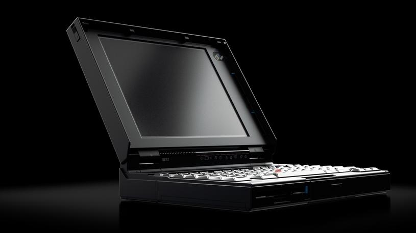 ThinkPad 25 lat temu. W latach 90. ThinkPad był marką należącą do firmy IBM /materiały prasowe