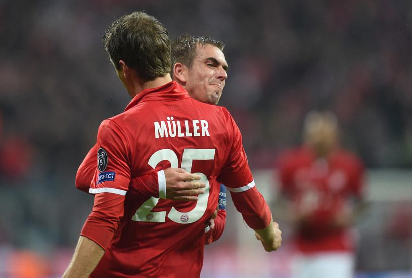 Thomas Mueller i Philipp Lahm /AFP