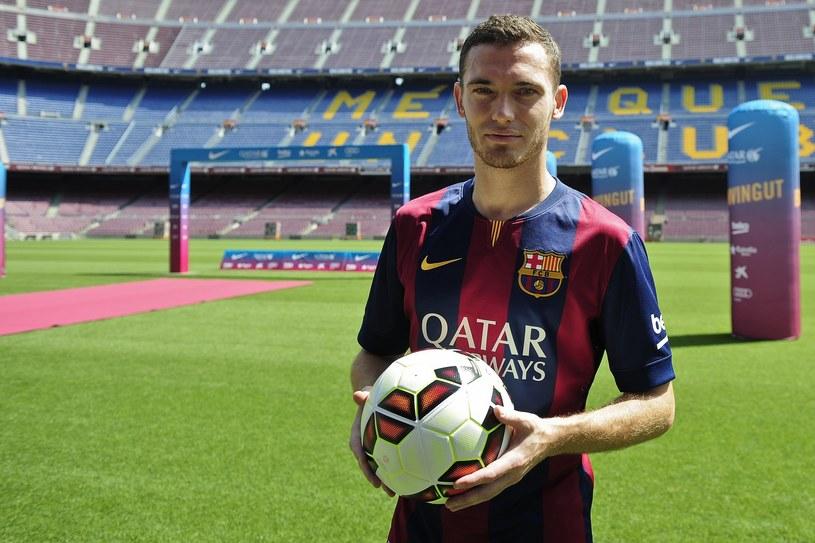 Thomas Vermaelen jeszcze nie zdążył zadebiutować w Barcelonie /AFP