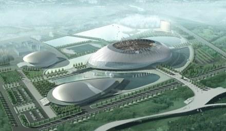 Tianjin Olympic Center Stadium /AFP