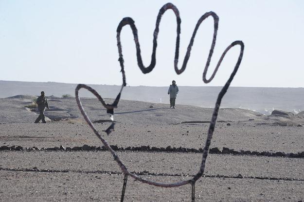 Tifariti, jedno z niewielu zamieszkanych osiedli w Saharze Zachodniej. Żyje tu ok. 3000 osób /AFP