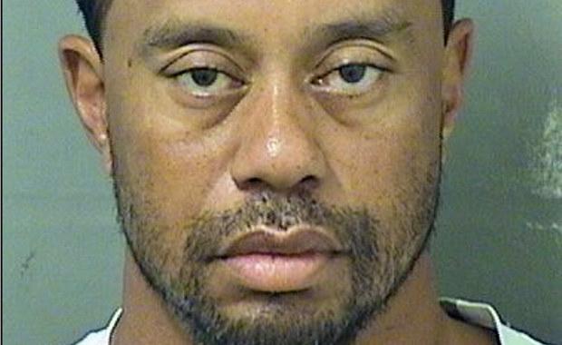 Tiger Woods zatrzymany przez policję