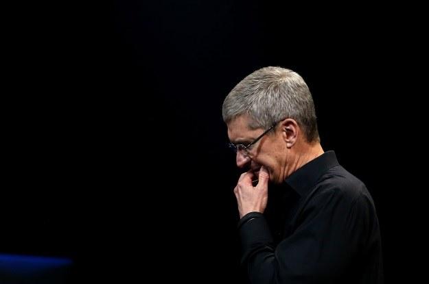 Tim Cook chce udowodnić, że Apple nadal potrafi być innowacyjne /AFP