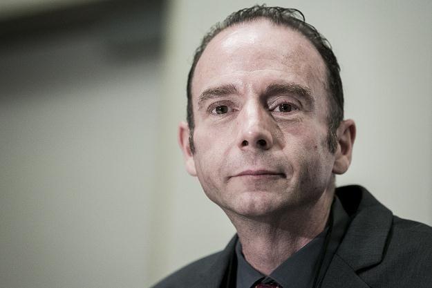 Timothy Ray Brown na konferencji w Waszyngtonie, 24 lipca 2012 /AFP