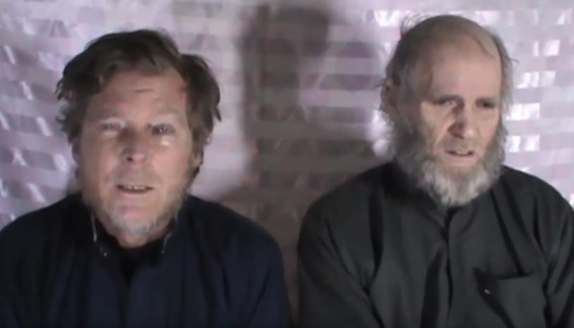 Timothy Weeks i Kevin King w nagraniu umieszczonym w internecie /YouTube