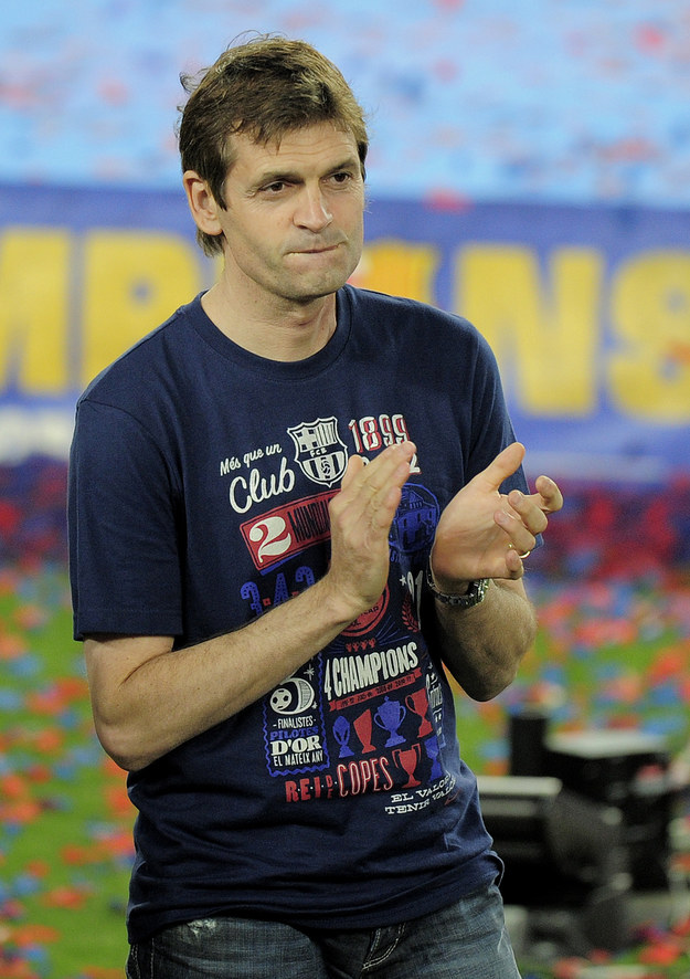 Trener Barcelony Nowy Tito Vilanova Nowy Trener