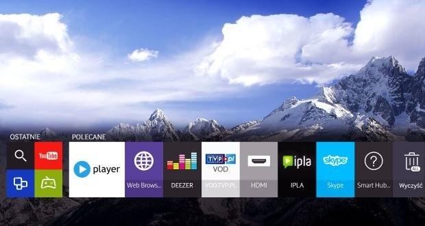 Tizen OS - szybki i sprawnie działający system operacyjny (platforma Smart TV) /materiały prasowe