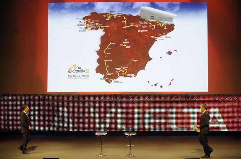 Tka przedstawia się trasa tegorocznej Vuelty. /AFP
