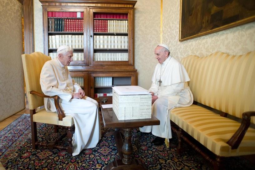 To drugie spotkanie obu papieży /AFP