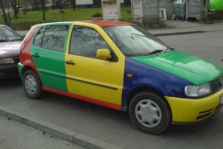 To fabryczny lakier /poboczem.pl