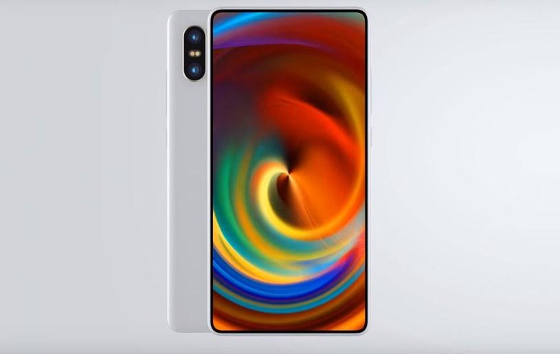To jedna z wizji, jak może wyglądać Xiaomi Mi Mix 2S /Conceptual Product Design /Internet
