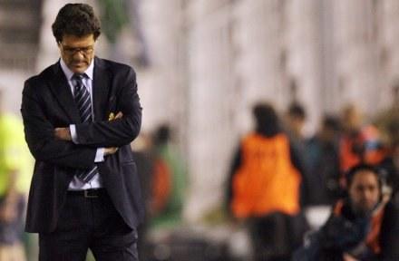 To nie tak miało być - myśli Fabio Capello /AFP