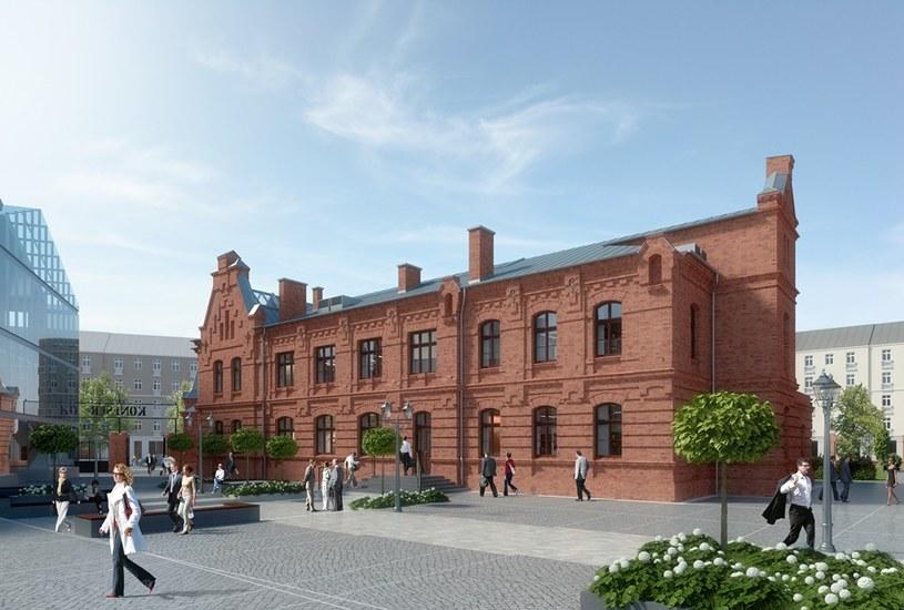 To przyszły Google Campus Warsaw /materiały prasowe