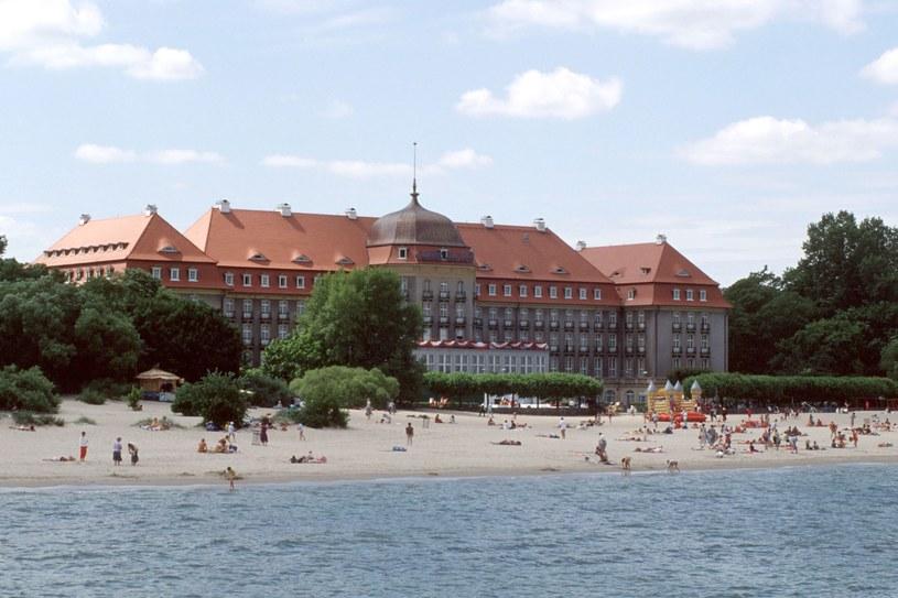To tu urodę Bałtyku podziwiali arystokraci, politycy, milionerzy oraz gwiazdy (Sopot, Grand Hotel) /fot. Igor Sniecinski/Reporter /East News