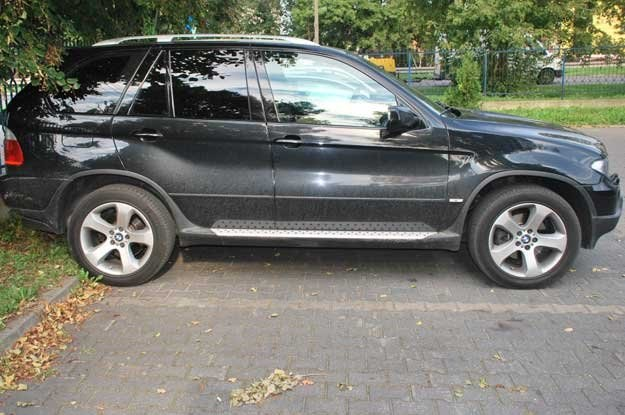 To  X5 skradziono w październiku ubiegłego roku na warszawskiej Woli /Policja