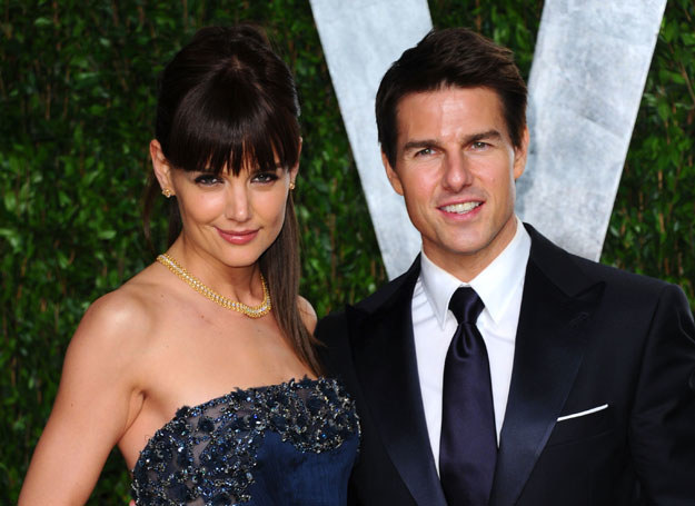 Tom Cruise i Katie Holmes /Getty Images/Flash Press Media