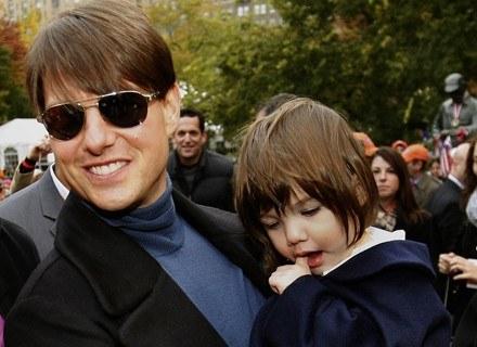 Tom Cruise i Suri /Getty Images/Flash Press Media