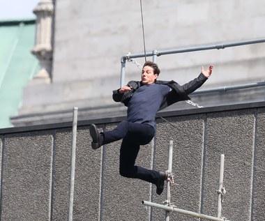 "Tom Cruise: Nieudany skok na planie ""Mission: Impossible 6"""