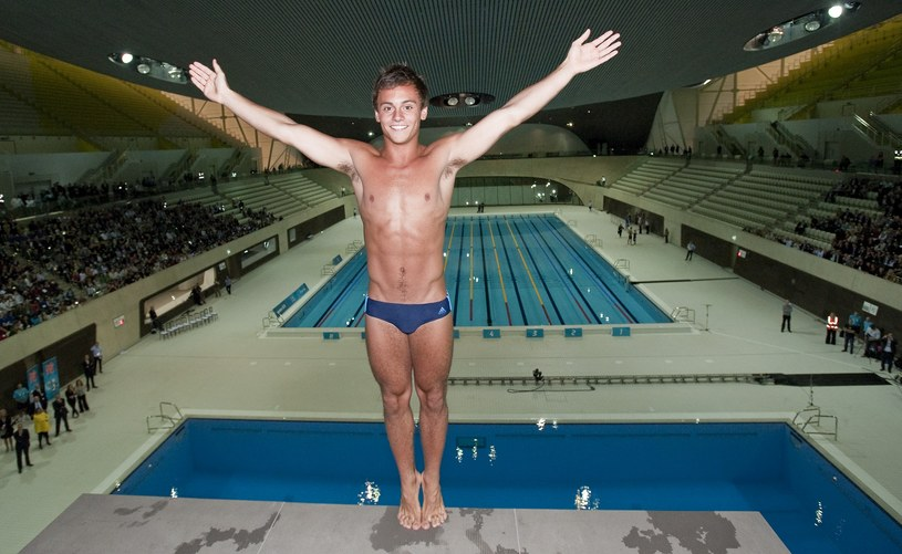 Tom Daley, 2012 r., London /Getty Images