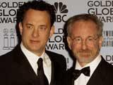 Tom Hanks i Steven Spielberg /