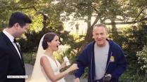 Tom Hanks zrobił niespodziankę nowożeńcom podczas sesji zdjęciowej
