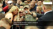 Tom Hardy zmienia telefony jak rękawiczki