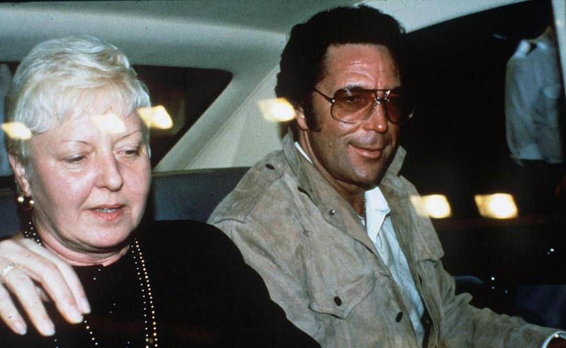 Tom Jones z żoną Melindą w 1987 roku /East News