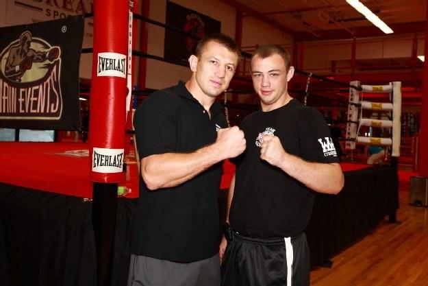 Tomasz Adamek i Adam Kownacki, Fot Mike Gladysz /INTERIA.PL