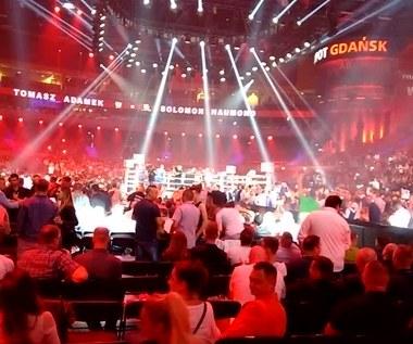 Tomasz Adamek - wejście do ringu