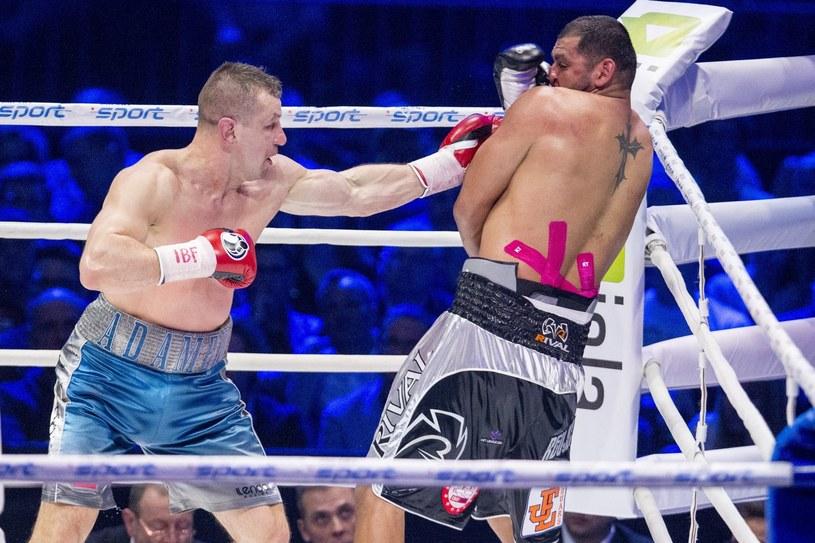 Tomasz Adamek (z lewej) /fot. Andrzej Iwanczuk /East News