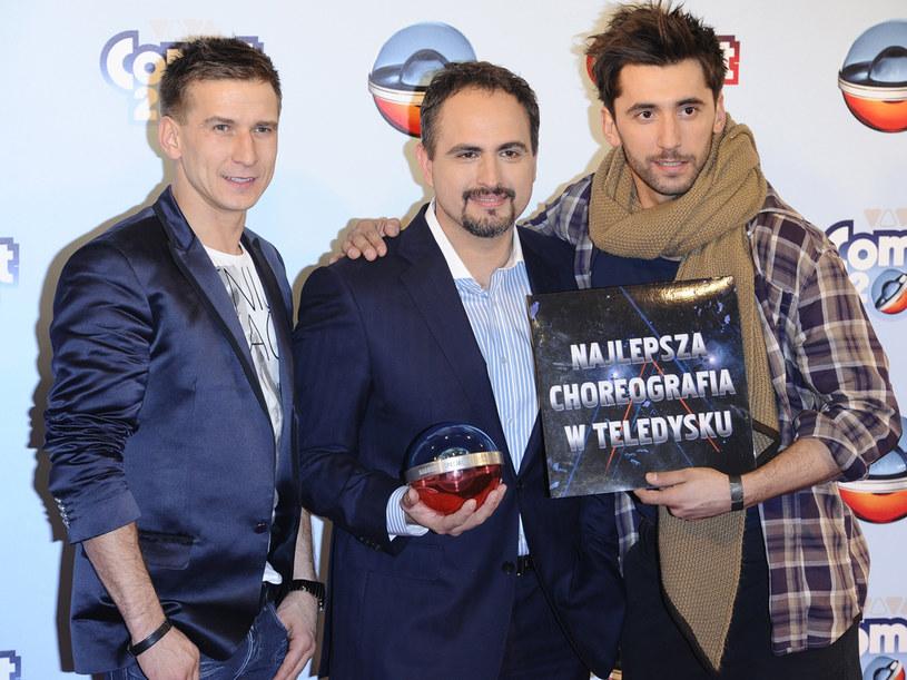 Tomasz Barański, Agustin Egurrola i Rafał Maserak  /Jarosław Antoniak /MWMedia