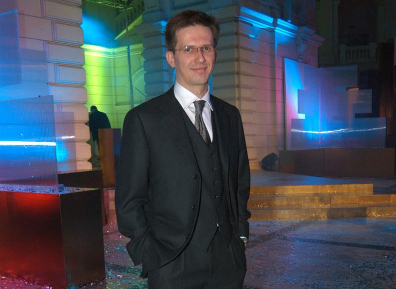 Tomasz Englert, 2003 r. /Prończyk /AKPA