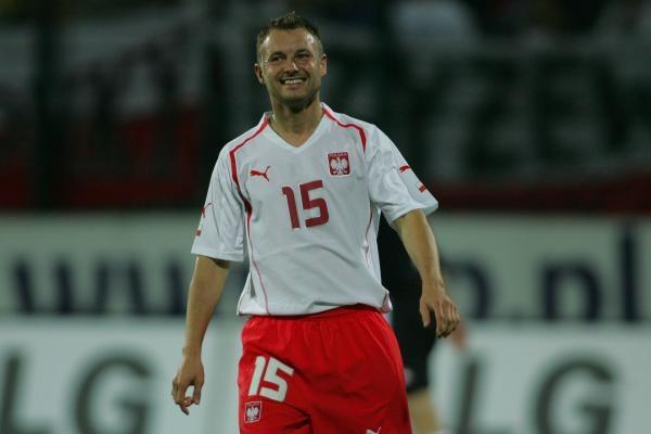 Tomasz Frankowski strzelił w eliminacjach MŚ 6 goli. Fot. Maciej Śmiarowski /Agencja Przegląd Sportowy