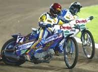 Tomasz Gollob stoczył kilka fantastycznych pojedynków w Krsku /www.speedwaygp.com