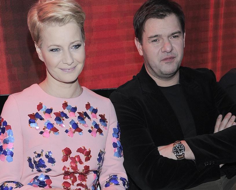 Tomasz Karolak i Małgorzata Kożuchowska /- /East News