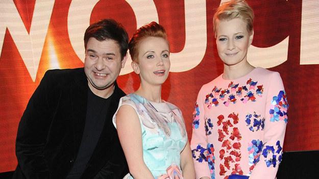Tomasz Karolak, Katarzyna Zielińska i Małgorzata Kożuchowska /Agencja W. Impact