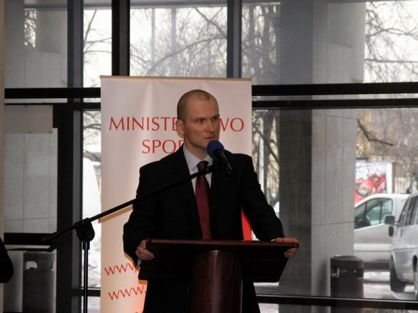 Tomasz Lipiec obiecał Polakom nowy stadion narodowy /INTERIA.PL
