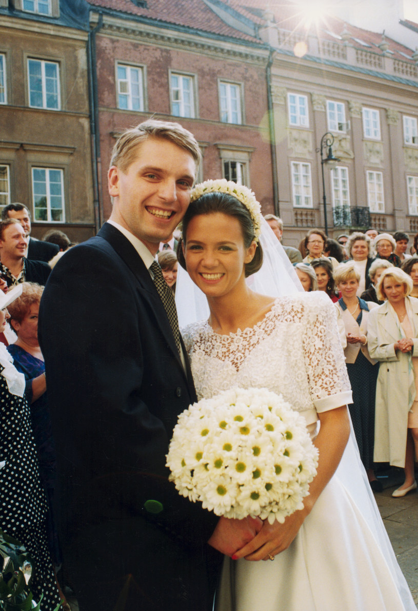 Tomasz Lis i Kinga Rusin mają córkę Polę. To ją nęka stalker /Żyburtowicz /AKPA