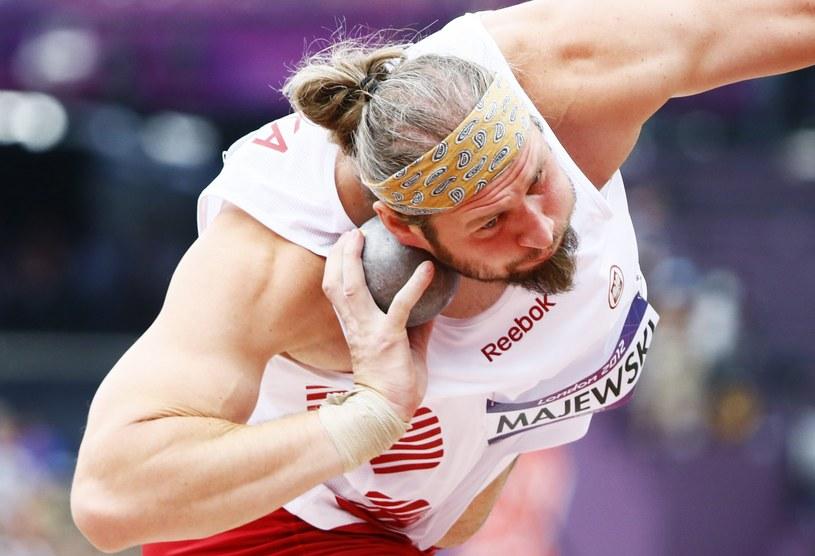 Tomasz Majewski, dwukrotny polski mistrz olimpijski /AFP