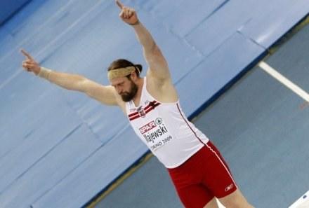 Tomasz Majewski jest w formie, a to zwiastuje zwycięstwa i rekordy /AFP
