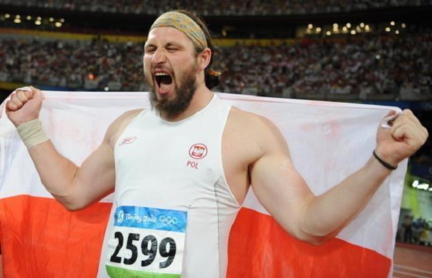 Tomasz Majewski w Pekinie zdobył złoty medal /AFP