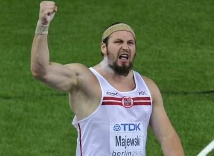 Tomasz Majewski wierzy, że Polska znów będzie lekkoatletyczną potęgą /AFP