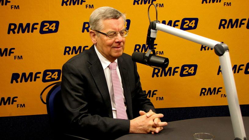 Tomasz Nałęcz /Kamil Młodawski /RMF FM