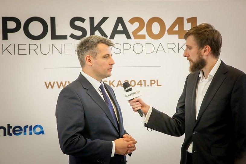 Tomasz Pisula, prezes PAIiIZ /INTERIA.PL
