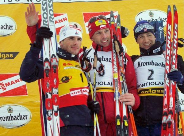 Tomasz Sikora po raz drugi w karierze wygrał zawody Pucharu Świata /AFP