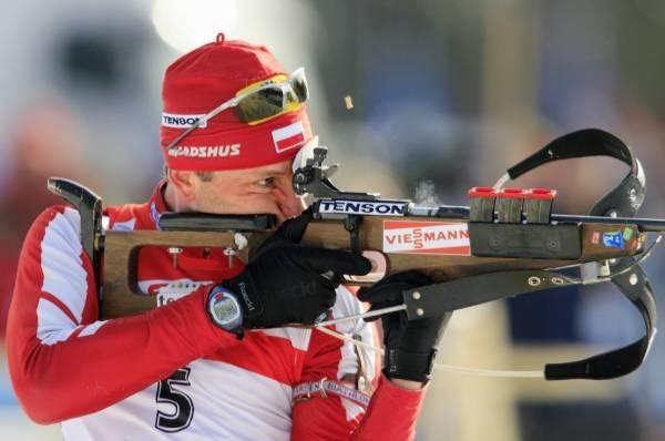 Tomasz Sikora tym razem słabiej zaprezentował się na strzelnicy /AFP