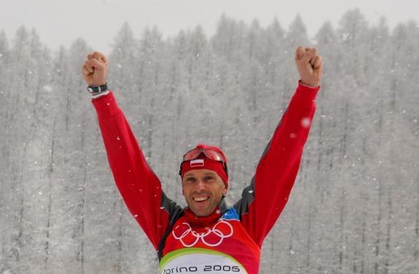 Tomasz Sikora zdobył srebrny medal igrzysk olimpijskich w biegu ze startu wspólnego /AFP