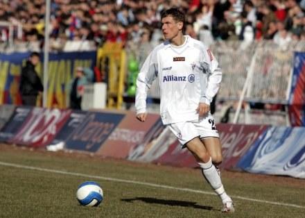 Tomasz Zahorski liczy na wyjazd na Euro 2008 fot. Irek Dorożański /Agencja Przegląd Sportowy